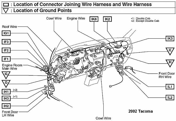 Daytime running light wire? | Page 3 | Toyota Tacoma Forum | Ground Wire Diagram Toyota Tacoma |  | Toyota Tacoma Forum