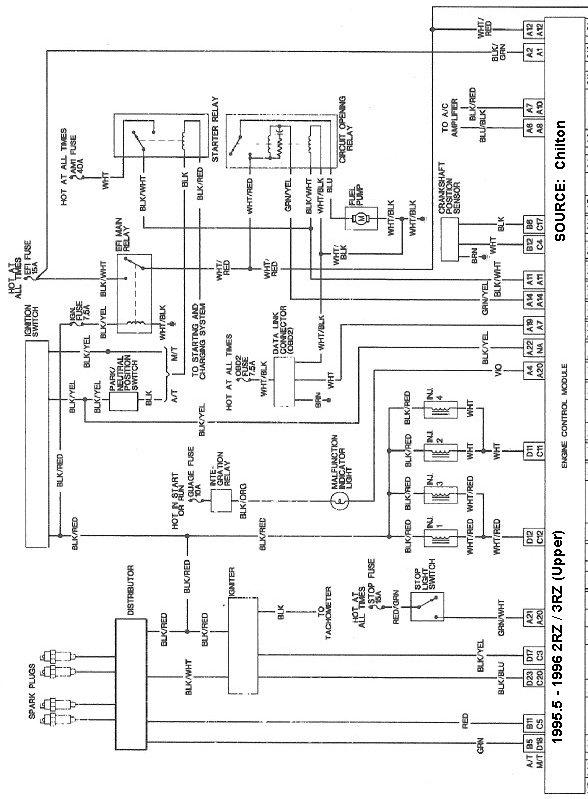 Need Tach Wiring Help (1996 2.7L 5spd Reg Cab) | Toyota Tacoma Forum | Wiring Diagram For 1996 Toyota Tacoma |  | Toyota Tacoma Forum