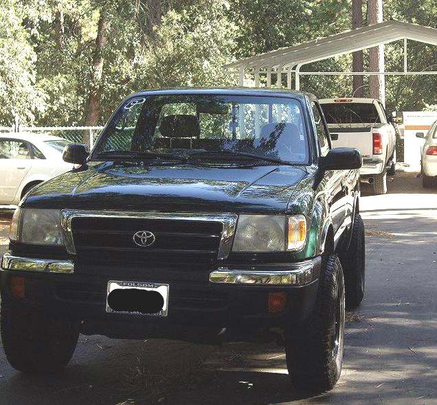 Bumper End For 96-2000 Toyota 4Runner Rear Left Side Chrome