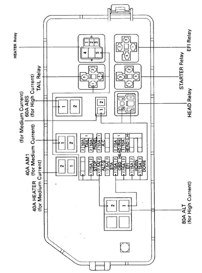 97 taco fuse box diagram/headlight problems | Toyota Tacoma Forum | 1997 Toyota Tacoma Fuse Box |  | Toyota Tacoma Forum