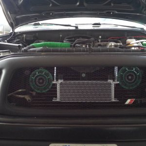were I plan to mount my oil cooler