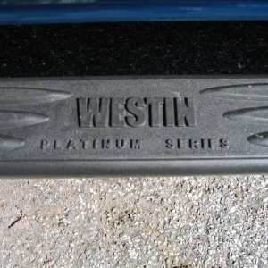Westin - Platinum Series Side Step