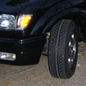 New tires on powdercoated S-Runner OEM rims (10/29/06)