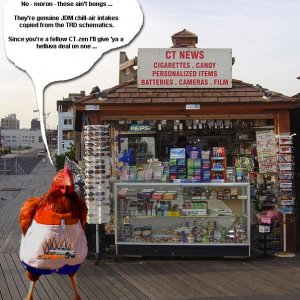 Runnah Fowl's Kiosk on the Boardwalk